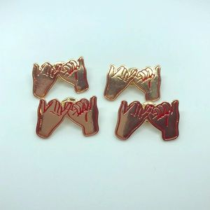 Pinky Promise Pins